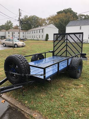 2013 5x8 custom trailer for Sale in New Milford, NJ