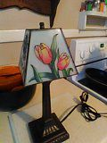 Gorgeous lamp with decorative shade $12 mint condition works great for Sale in South Norfolk, VA