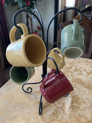 longaberger wrought iron mug tree rack for Sale in March Air Reserve Base, CA