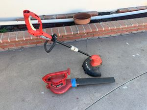 Leaf blower and trimmer 60$ for Sale in Norco, CA