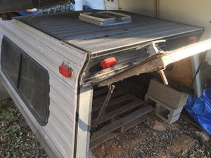 Camper shell and truck bed furnishings for Sale in Poway, CA