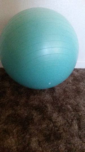 Exercise ball for Sale in Modesto, CA