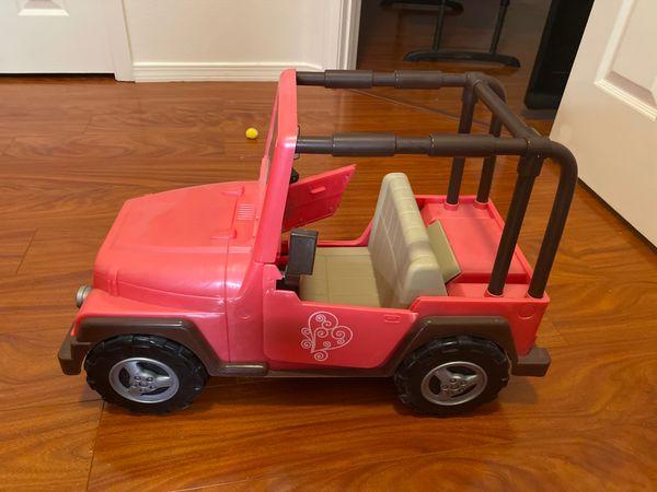 american girl jeep