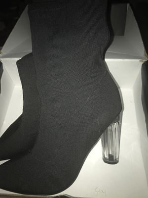 Chunky heel Black Boots for Sale in Baltimore, MD
