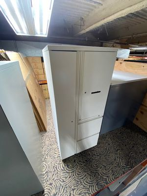 Storage Cabinet Combo Filing Cabinet Herman Miller #12 for Sale in Los Angeles, CA