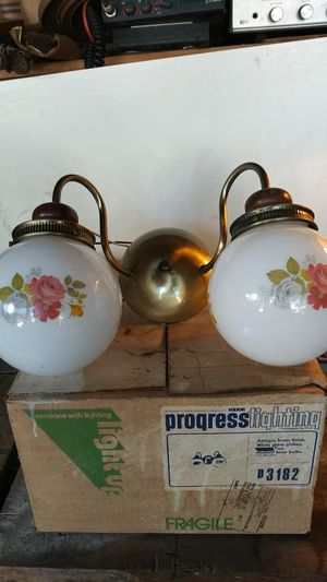 Double light fixture brand new for Sale in East Lansdowne, PA