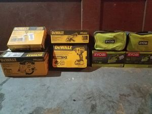 Ryobi dewalt for Sale in Struthers, OH