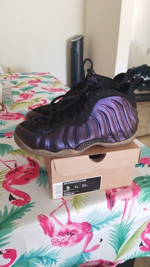 Nike foamposite purple size 9 2008 for Sale in Silver Spring, MD