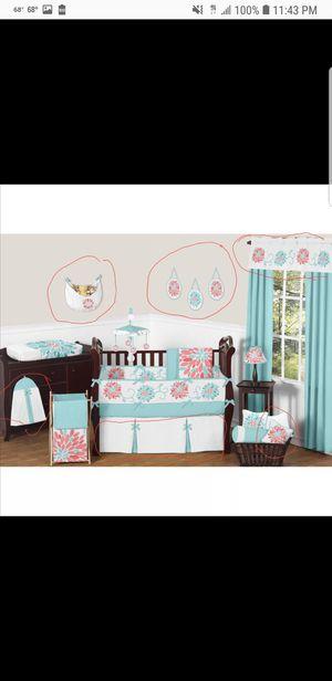 Emma sweet jojo design mini crib baby bedding set for Sale in Orlando, FL