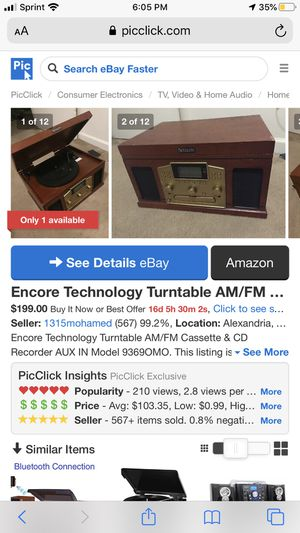 Encore technology Turbtable for Sale in Melrose Park, IL