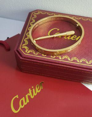 Cartier Love Bracelet Size 19 for Sale in Aspen Hill, MD