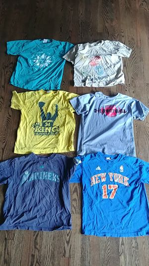 Lots of kids clothes pants shirts size 8-11 boys for Sale in Bellevue, WA