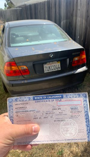 2003 BMW 325i for Sale in Rio Linda, CA