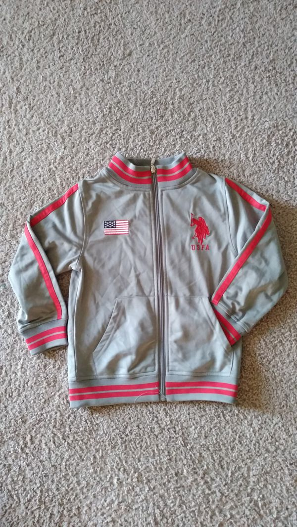 Beautiful U.S. Polo Jacket , toddler size 5/6 ( excellent condition )