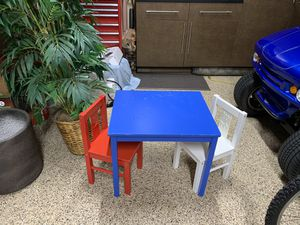 Kids table and chairs for Sale in San Clemente, CA