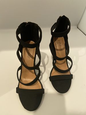 Bamboo Black Heels for Sale in Mission Viejo, CA
