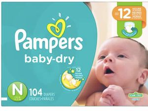 Newborn diapers Nd size 1 diapers for Sale in Washington, DC