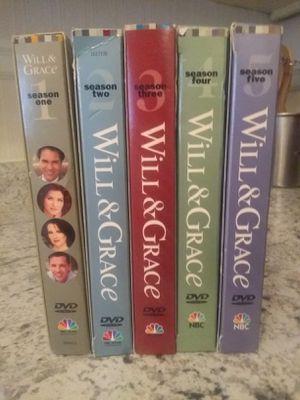 Will & Grace seasons 1 through 5 for Sale in Richmond, VA