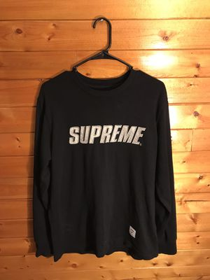 Black Chrome L/S supreme t shirt for Sale in SEATTLE, WA