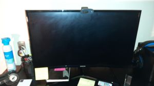 """Samsung 27"""" Curved Monitor for Sale in Seattle, WA"""