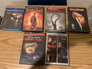 Halloween Horror Movie Bundle for Sale in Fullerton, CA