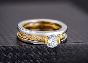 Stamped 18K Gold plated Ring Set for Sale in Dallas, TX