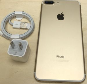 iPhone 7 Plus 128GB Factory Unlocked-Gold for Sale in Edgewater, NJ