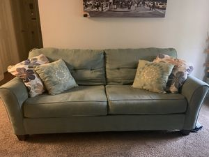Two nice couch in good condition . Comfortable,clean,I'm selling them because I've got a new one. SoI don't need them anymore. for Sale in Charlotte, NC