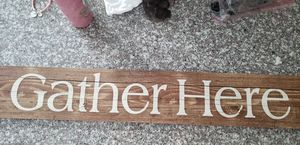Gather here kitchen sign for Sale in Virginia Beach, VA