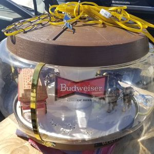 Vintage Budweiser Clydesdale Carousel Light for Sale in Tavares, FL