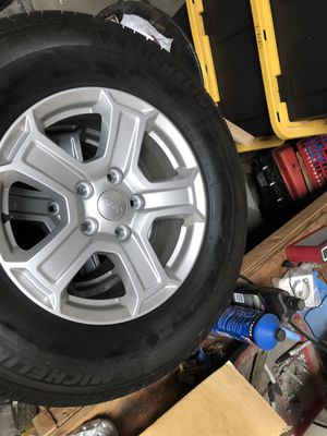 Jeep Tires and wheels for JL for Sale in Norwalk, CA