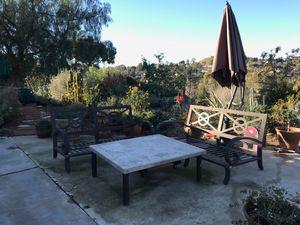 Patio set cast iron classics landgrave furniture for Sale in Alpine, CA