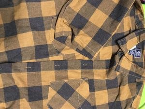 Men's short sleeve button up plaid shirt 2XL. New with tags for Sale in Elk Grove, CA