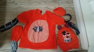 Five nights at freddy foxy costume kids sz M/L for Sale in Chino Hills, CA