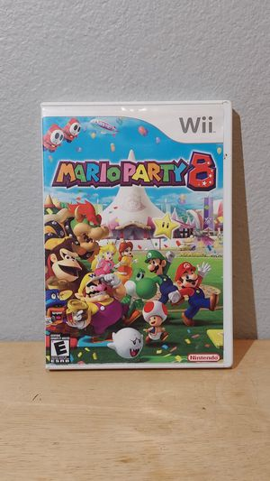 Nintendo Wii Mario Party 8 in Original Box Tested for Sale in HUNTINGTN BCH, CA