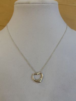 Tiffany & Co Heart necklace, like new condition for Sale in San Jose, CA