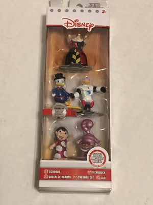 Jada Toys Disney Nano Metalfigs * brand new 5 pack figure collector's set for Sale in Albany, OR