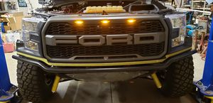 2015 f150 oem headlights pair with putco led high low bulbs for Sale in Santee, CA