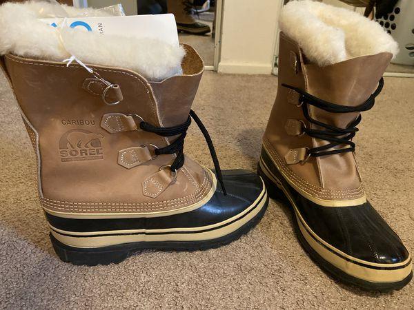 Men's Sorel's Caribou Boots size 9