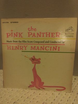 The pink panther soundtrack vinyl for Sale in St. Louis, MO
