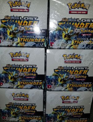 Pokemon TCG Sun and Moon Booster Box for Sale in Rancho Cucamonga, CA