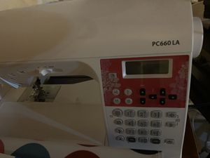 Brother Sewing Machine Laura Ashley PC660LA for Sale in Milford, OH