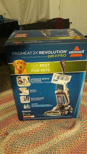 Preheat ×2 revolution carpet & upholstery deep cleaner for Sale in Oklahoma City, OK