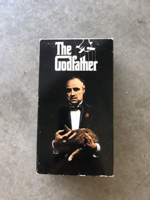 THE GODFATHER vhs set for Sale in Modesto, CA
