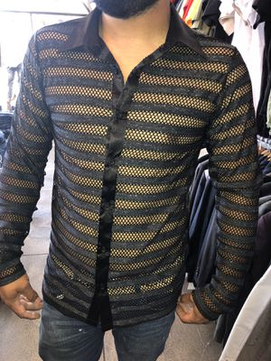 Men's fashion shirt new with tags sizes small medium large only store pick up for Sale in Los Angeles, CA