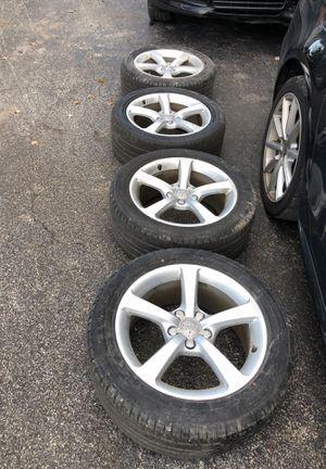Audi wheels 17 inch for Sale in Delray Beach, FL