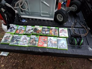 360 games and head set for Sale in Tampa, FL