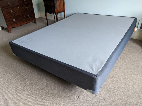 Sealy Posturepedic Queen Mattress, Box Spring And Frame- Barely Used