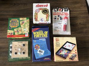 6 Handheld / Card / Dice / Puzzle Games for Sale in Sycamore, IL