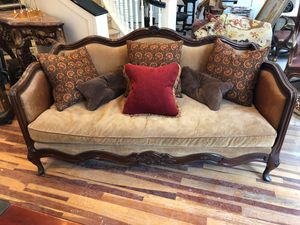 This is a Lillian August Collection, it's was $3,000 new. We are moving to a new office and I need to get rid of it. This sofa is filled with down an for Sale in Salt Lake City, UT
